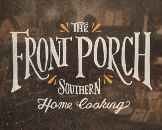 The Front Porch #type #lettering
