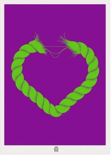 SHIP OF FOOLS on the Behance Network #heart #sailor #illustration #navy
