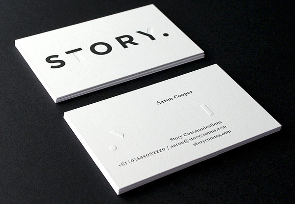 Via typethatilike — Story by toko.nu #business #card #branding