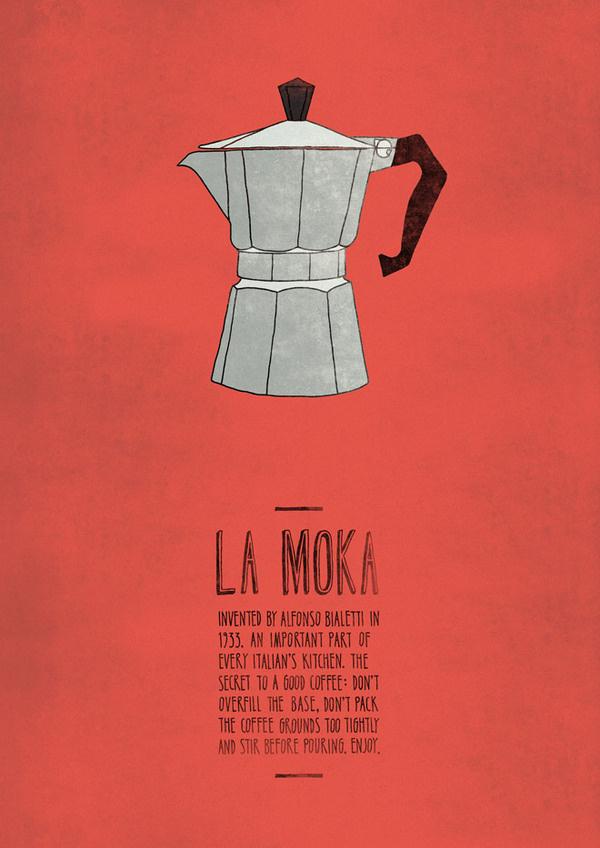 La Moka #emily #illustration #isles #poster