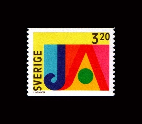Ja stamp   Flickr - Photo Sharing! #stamp #lars #melander