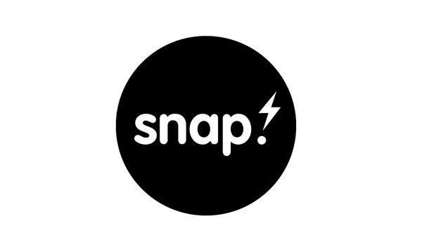 Snap Logo #logo #blackandwhite #minimal