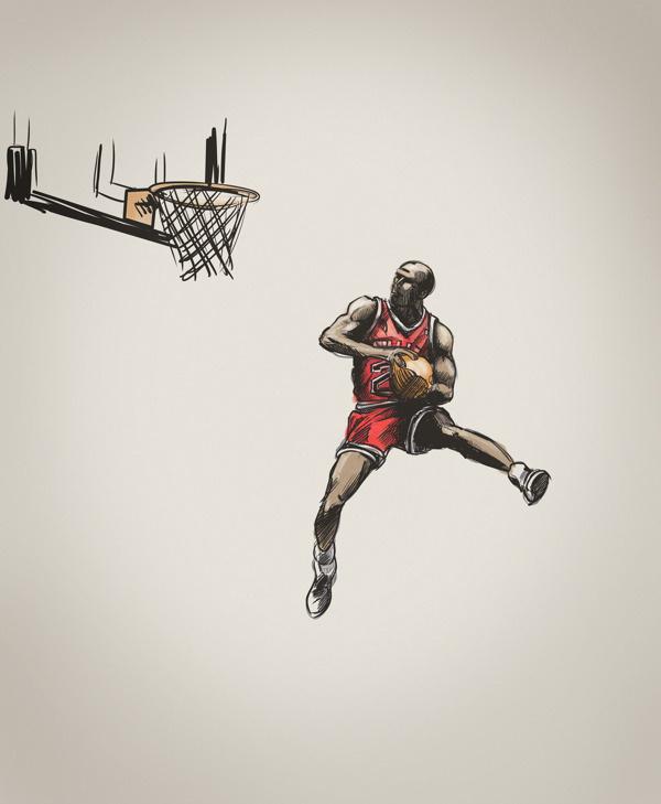G.O.A.T #jordan #illustration #basketball