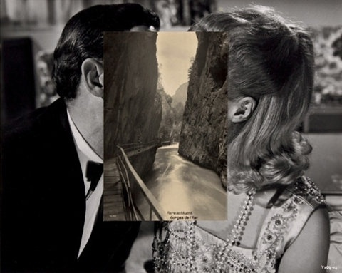 FFFFOUND! #negative #collage #space