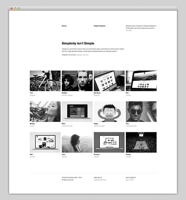 Dzucle #based #design #website #grid #layout #web