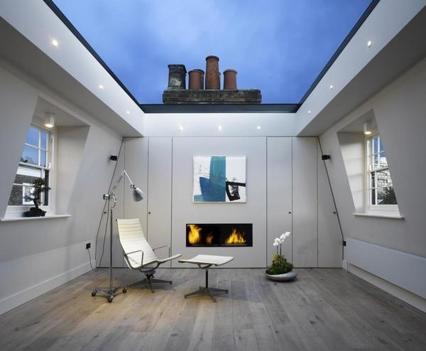 A wonderful skylight office #office #architecture #workspace