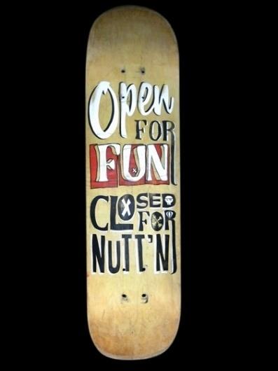 Forth Thread Forth Thread » typography #deck #type #skate