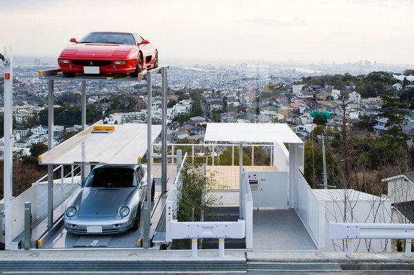 Kenji Yanagawa Case Study House #garage #architecture #house