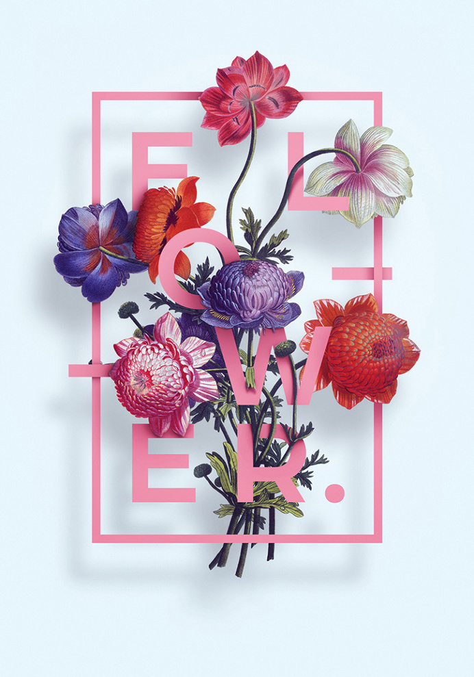 Floral Posters Series