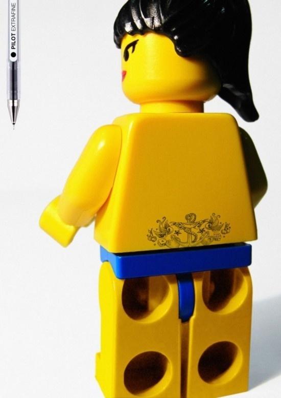 legot5 #figures #tattooed #lego #tattoos