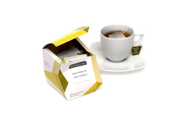 O Gesto e a Embalagem on Behance #packaging #design #cubism #tea #multifaceted