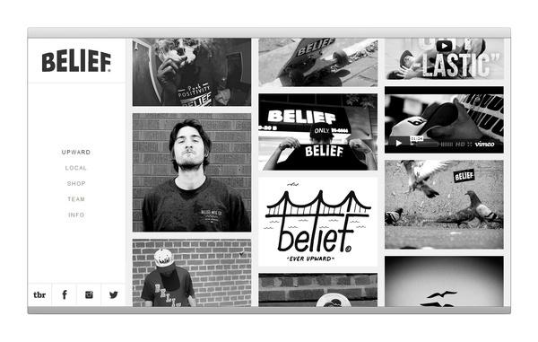 Elevn Co. / Belief Website and Identity #tumblr #responsive #design #minimalism #clean #website #grid #simple #mobile #fluid #wordpress #web #relative