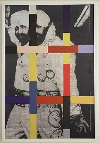 Tony Labat - Frankenstein Series (Elvis Impersonator), - Artwork details at artnet #tony #labat #collage #art