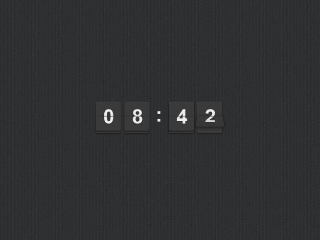 Clock flipper Free Psd. See more inspiration related to Clock, Horizontal and Flipper on Freepik.