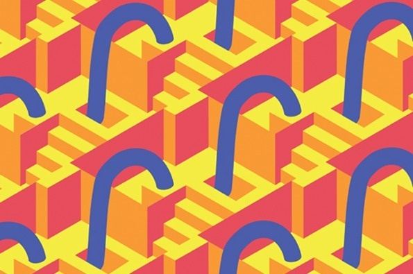 It's Nice That : Happy repetitions and chance compositions from graphic illustrator, James Hines #hines #james #patterns