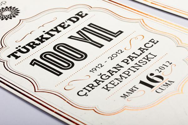 BP Turkey / 100 Years in Turkey by Motto #print #typography