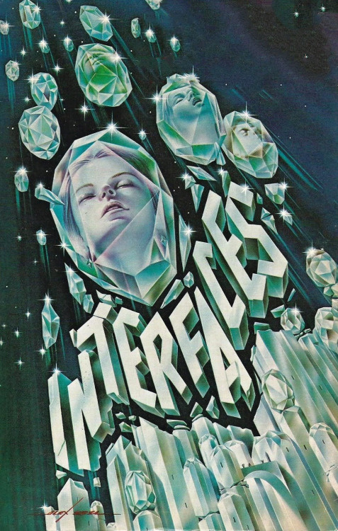 "sciencefictiongallery: ""Alex Abel - Interfaces, 1980. """