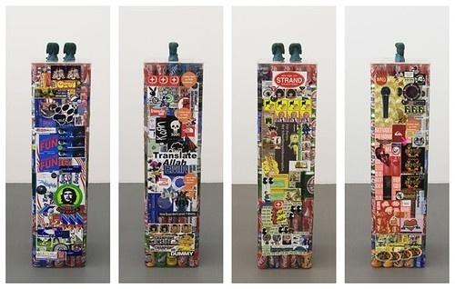 The Supermarket #pedestal #sculpture #stickers