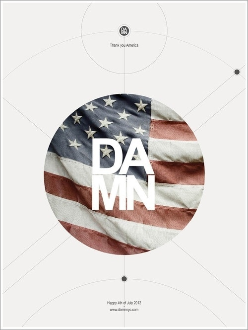 damn nyc - pictures #america #damnnyc #damn #design #graphic #july #independance #nyc #4th #poster #day #usa