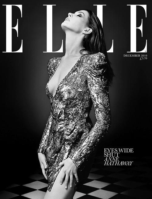 Elle December 2010 #fashion #elle #cover #photography