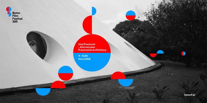 Beton Film Festival by Polish design studio UVMW #Le Corbusier #UVMW #Beton #Polish