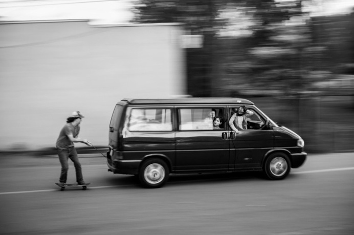 Monster Children Photo Contest 2015 - Lifestyle skateboarding, VW, skitching