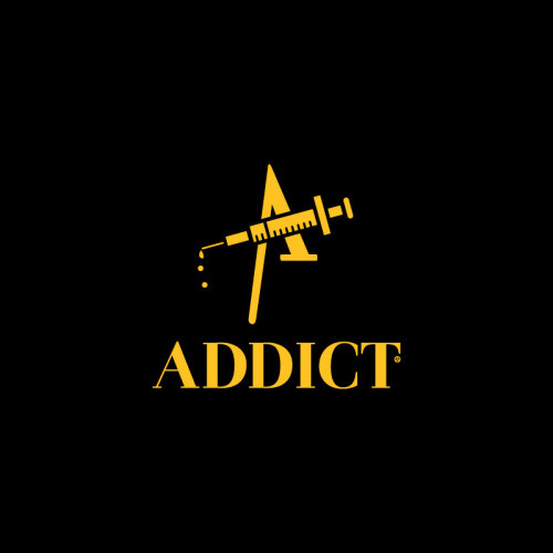 Addict Awards from The Award Winning Game #parody #logo #advertising