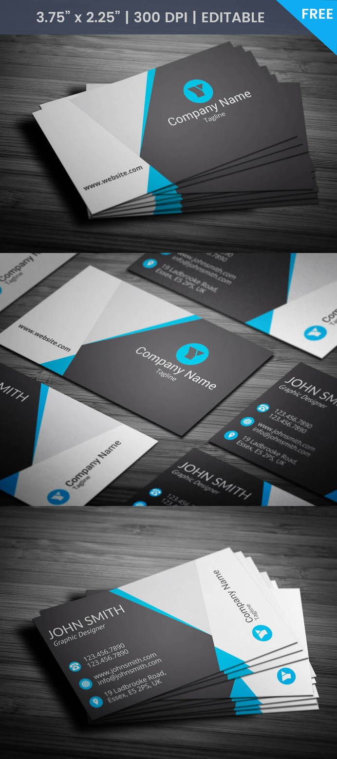 Free Ux Designer Business Card Template