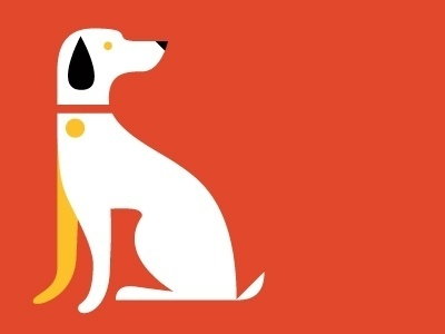Dribbble - Pooch by Eight Hour Day #hour #modern #color #eight #illustration #puppy #day