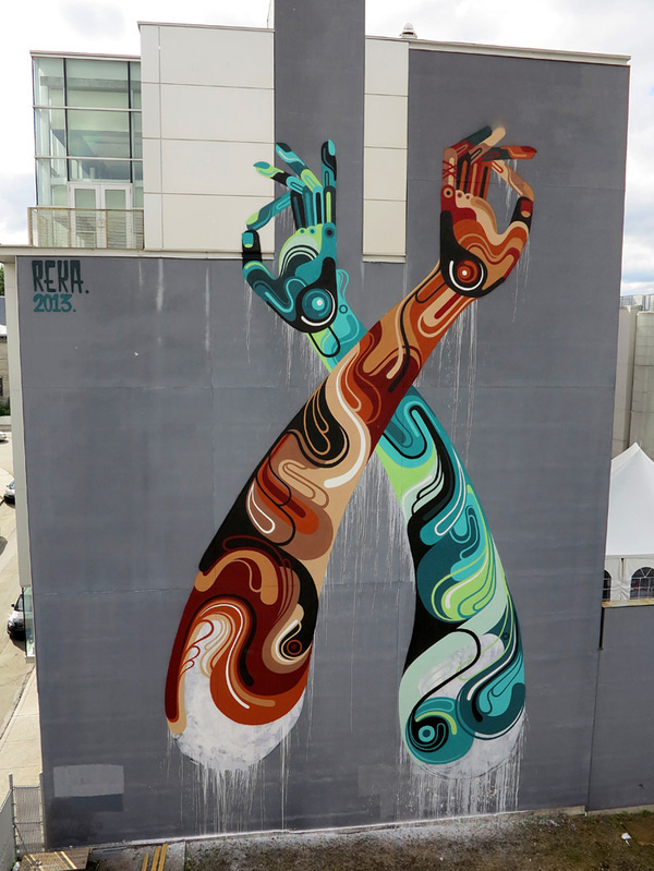 Mural Festival - Montreal #reka #mural #art #one