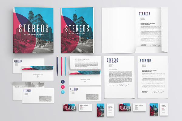 Branding / Identity Mock-up #field #business #branding #mockup #card #depth #of #identity #letterhead #paper #folder
