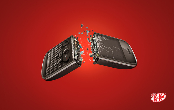 Kit Kat Smartphone #kit #kat #advertising