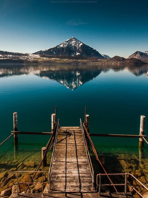 CJWHO ™ (THUN by CoolBieRe Lake Thun (German: Thunersee)...) #thun #amazing #landscape #switzerland #photography #lake #view