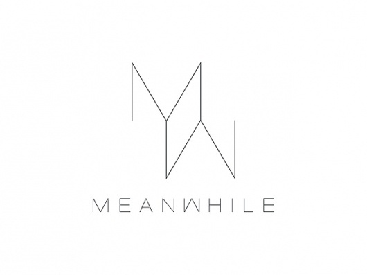 MEANWHILE #logo #identity #meanwhile