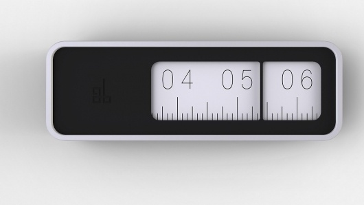 A Clock That Measures Time With A Ruler | Co.Design: business + innovation + design #clock #design
