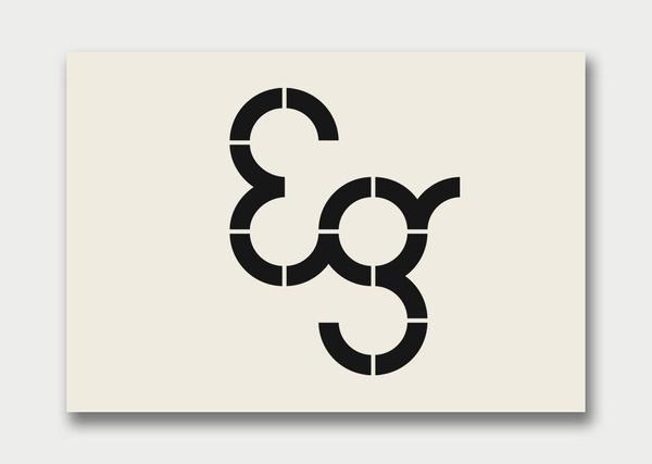 Logos on the Behance Network #eg #typeface #typography