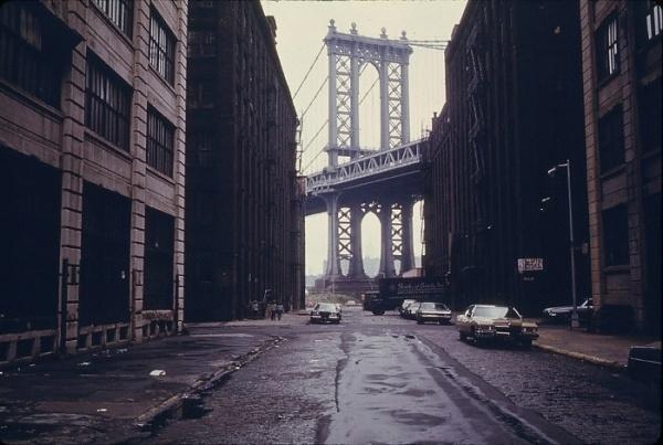GreyHandGang™ #bridge #alley #car #1970s