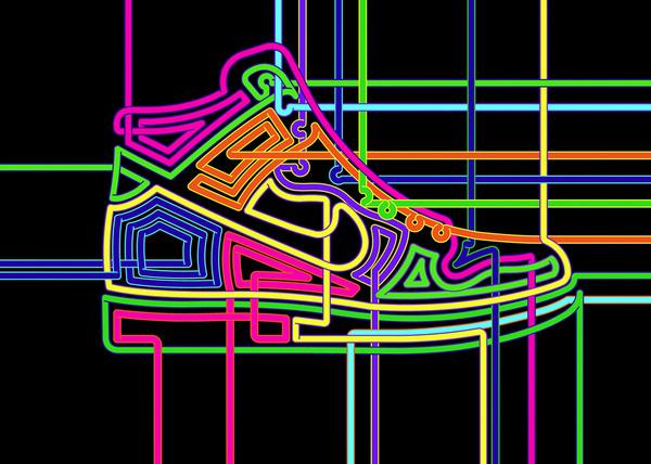 Steve Wilson Portfolio 2 Breed #illustration #neon