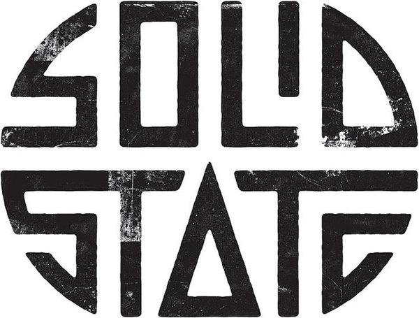 Solid State #ink #design #black #handmade #logo #hand