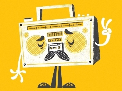 Dribbble - The Sounds of Peace by Chris Sandlin