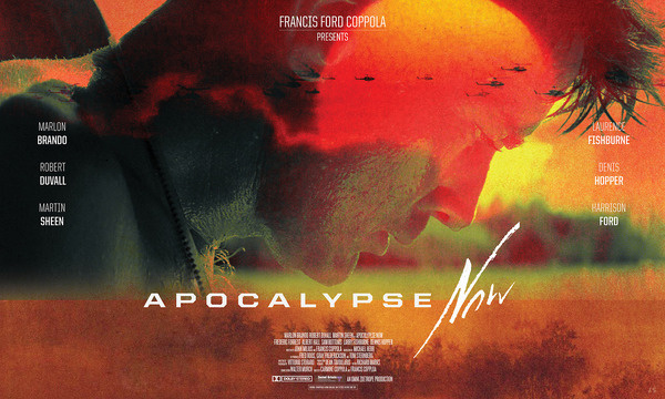Poster for the 1979 film Apocalypse Now #design #poster #type #layout #neon