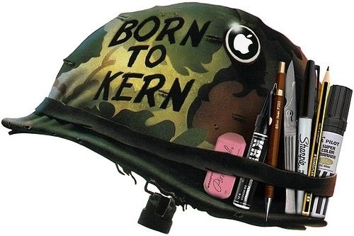 Born to Kern #helmet #born #parker #joe #kern #to