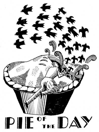Blog | Irving & Co #pie #white #black #illustration #and
