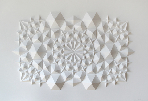 Matt Shlian | PICDIT #sculpture #white #design #art #paper