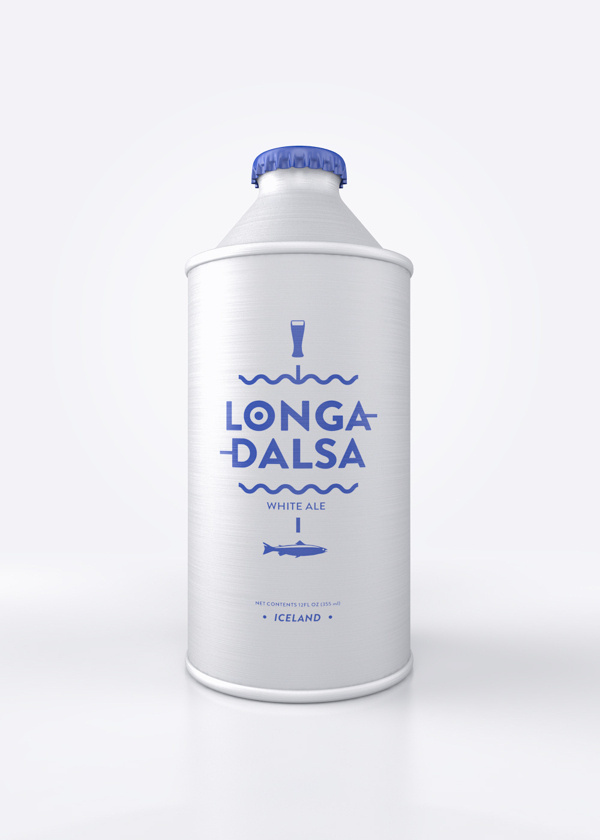 Longadalsa on Behance #beer #branding #bottle #packaging #ale #typography