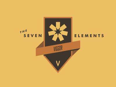 Seven Elements #shield #badge