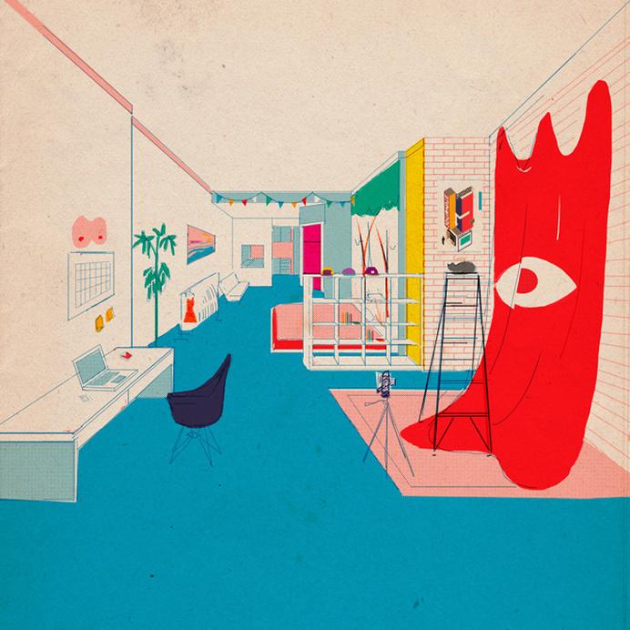 . #illustration #room