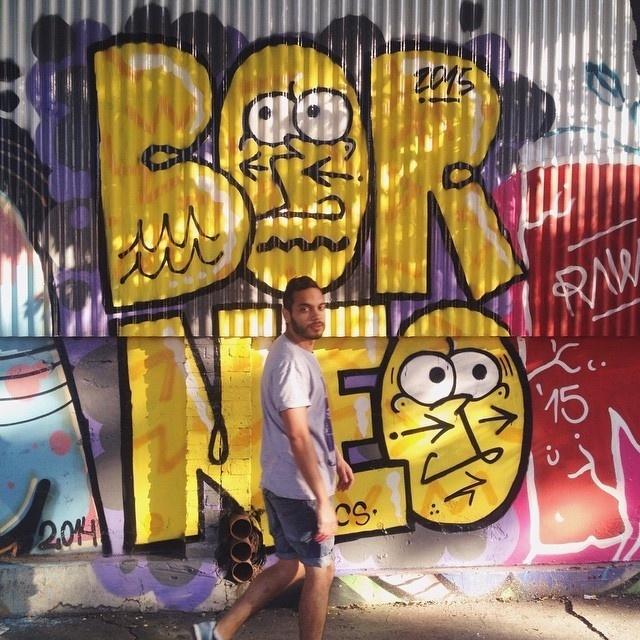 BORNEO #graffiti #buenosaires #borneo #street