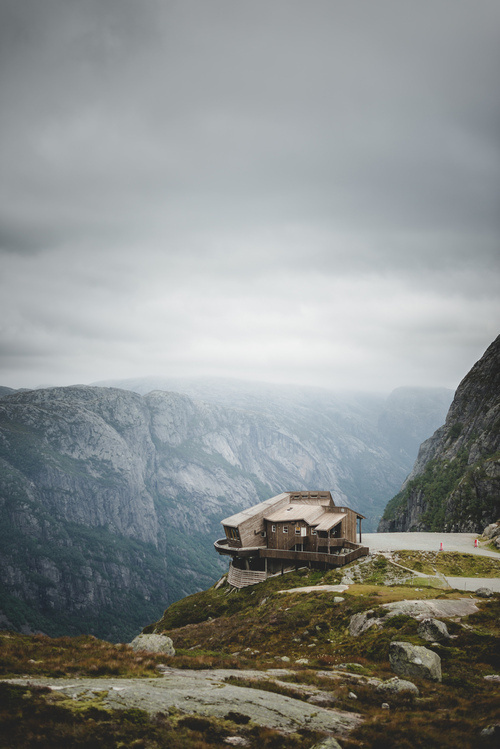 CJWHO ™ (Kjerag, Lysebotn, Norway by Chris Zielecki ...) #design #landscape #wood #photography #architecture #cabin