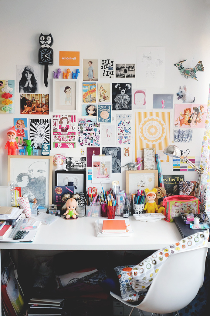 work space/desk! – A peek into my home – Hannah